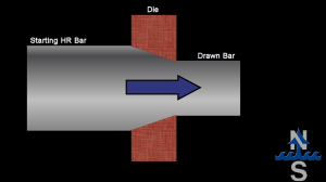 Northlake Diagram of Cold Drawn Bar