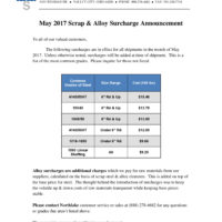 2017-05 NSC Surcharge Letter