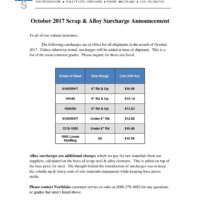 2017-10 NSC Surcharge Letter