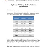 2018-09 NSC Surcharge Letter