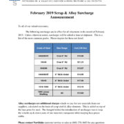 2019-02 NSC Surcharge Letter